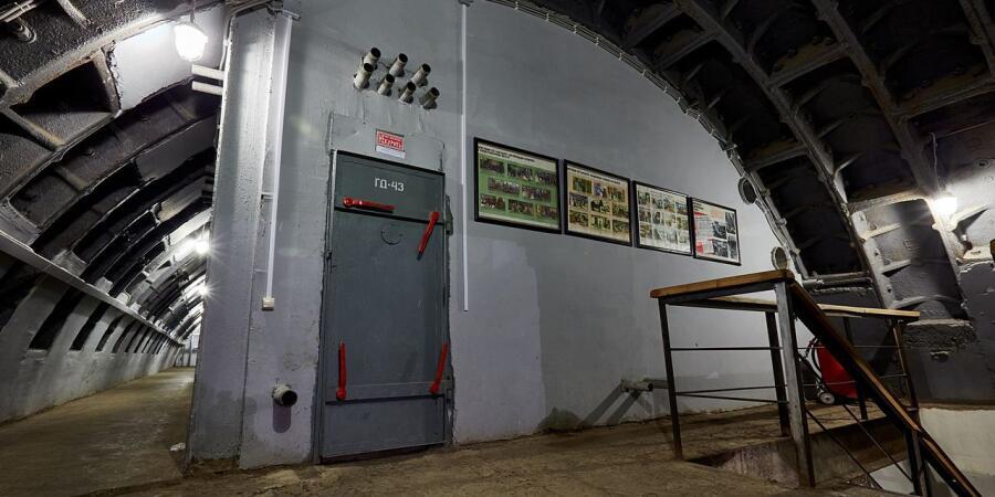 Один из блоков бункера-42, музея холодной войны, 2011 г.