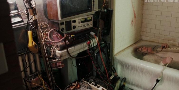 Кадр из фильма «Звонок», 2002 г.