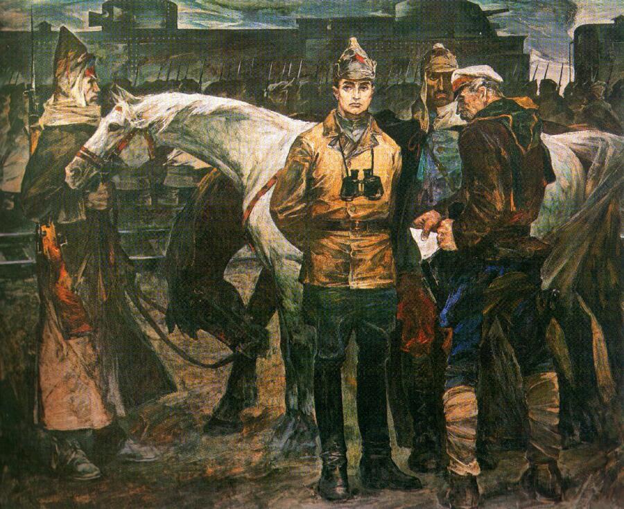 А. И. Дягилев, «Командарм Тухачевский»