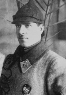 Командир 39-го Бузулукского кавалерийского полка Г. К. Жуков. 1923 год