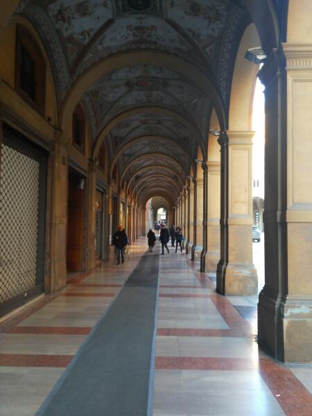 Болонья— город портиков