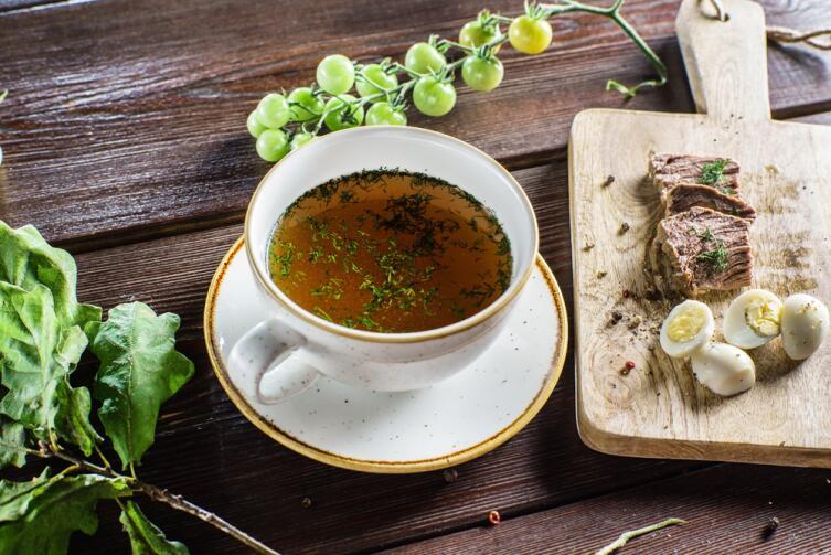 Как приготовить императорское блюдо - консоме?