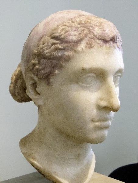 Бюст Клеопатры VII из Шершелл в Алжире