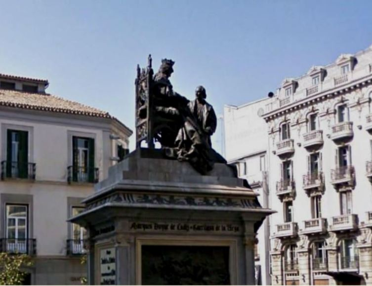 Памятник Изабелле Кастильской и Христофору Колумбу
