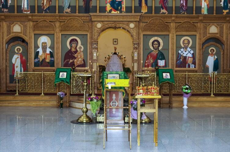 Иконостас в православной церкви
