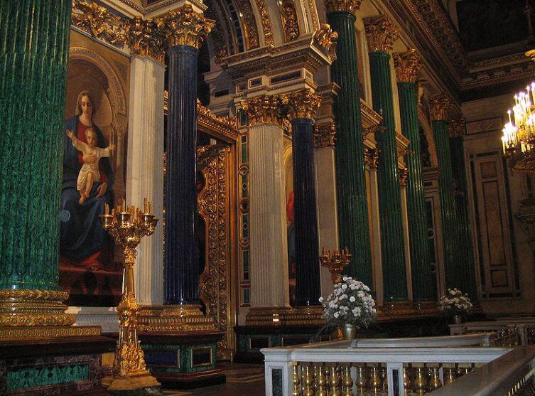 Исаакиевский собор, главный иконостас