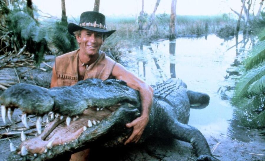 Кадр из фильма «Крокодил Данди»