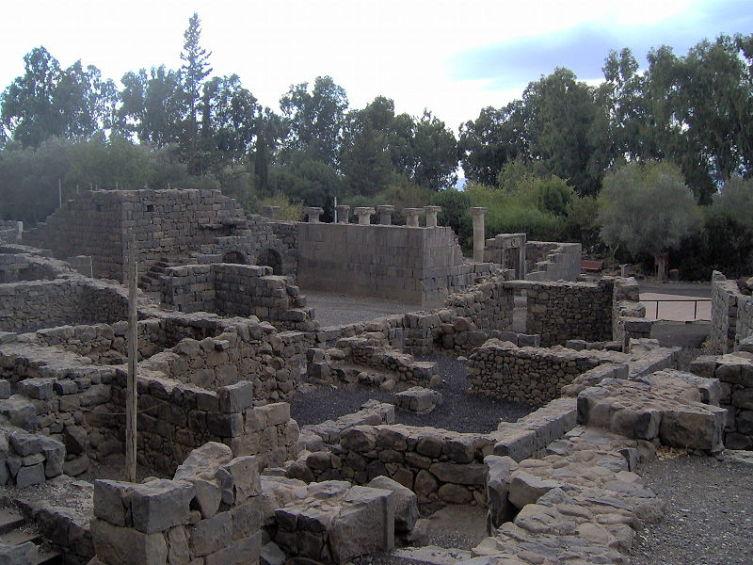 Древний город Кацрин на Голанских высотах