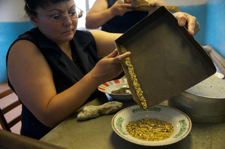 Золотоприёмная касса в Якутии