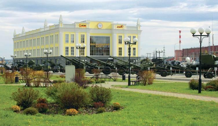 Музей военной техники УГМК в г. Верхние Пышмы