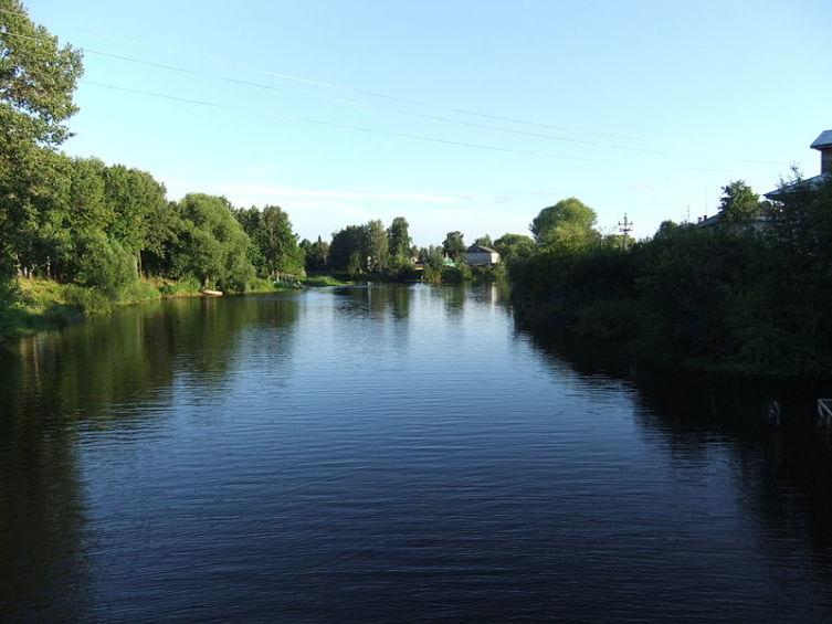 Река Пертомка в Пошехонье