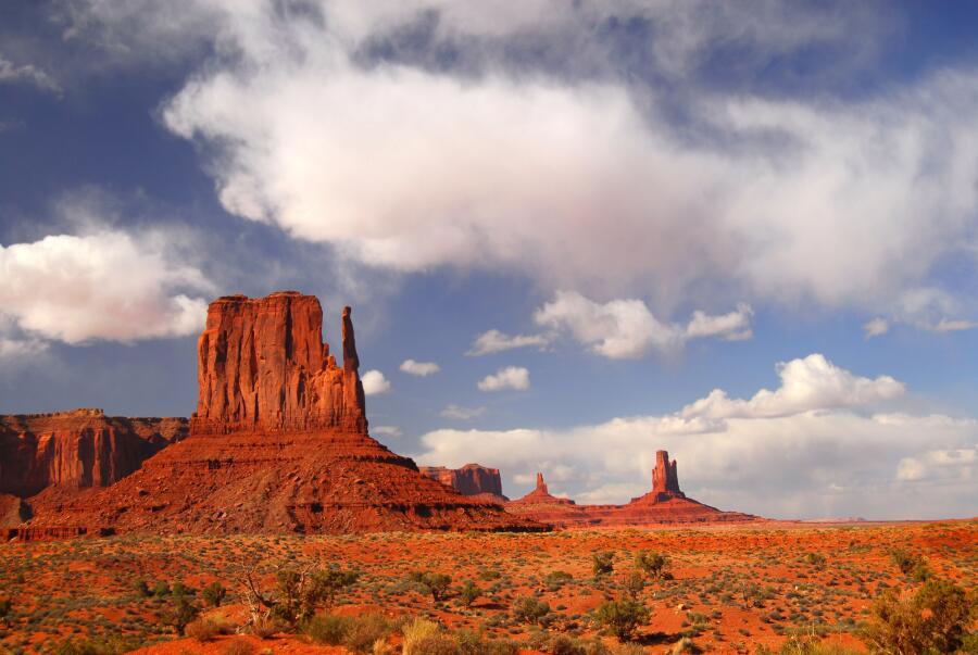 Долина монументов, парк племени Навахо