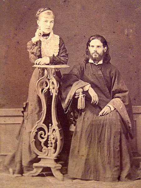 Наталья Фёдоровна и Роман Петрович Беляевы, родители писателя