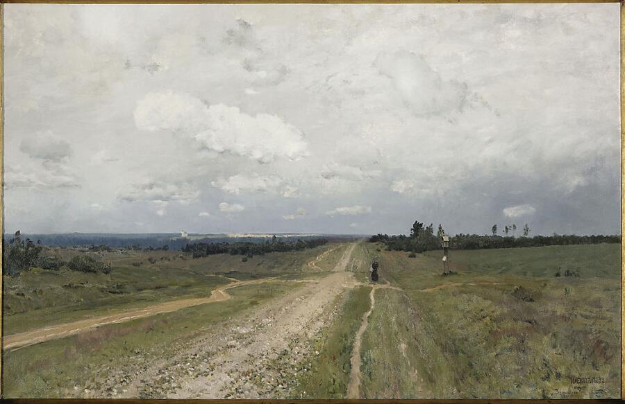 Исаак Левитан, «Владимирка», 1892 г.