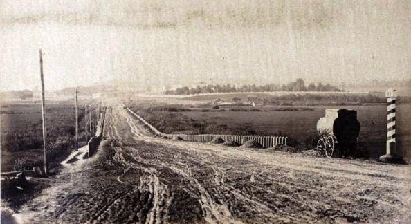Владимирка, 1858—1862 гг. Фотограф Фердинанд Бюро