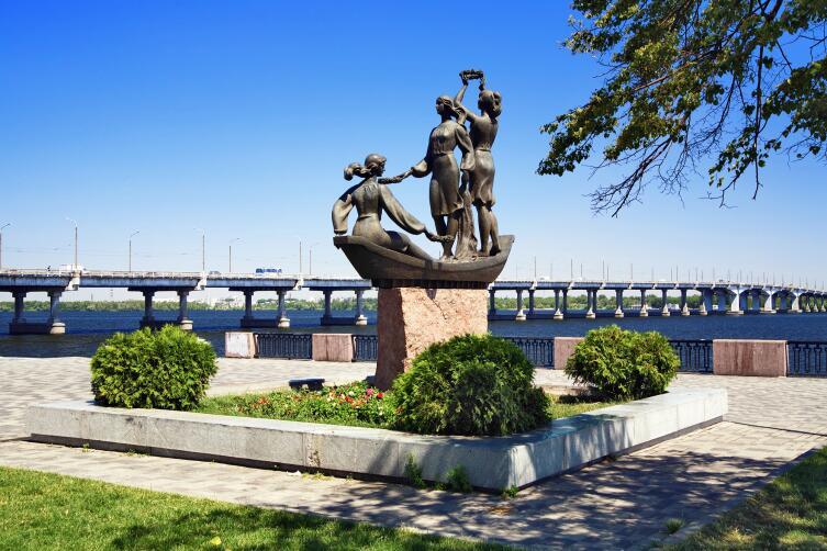 Набарежная в Днепропетровске