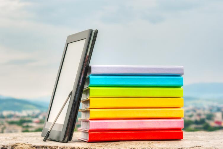 Продажа книжной продукции снижается, потому что растет доля электронных книг