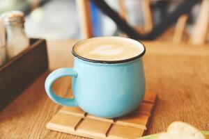 Если у вас есть кофе, сливки и... желание!