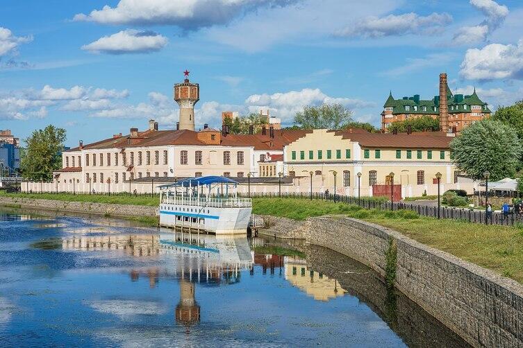 Вид на Фокинскую мануфактуру в Иванове