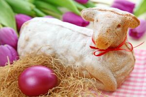 Как в прошлом готовили пасхального барашка из масла?