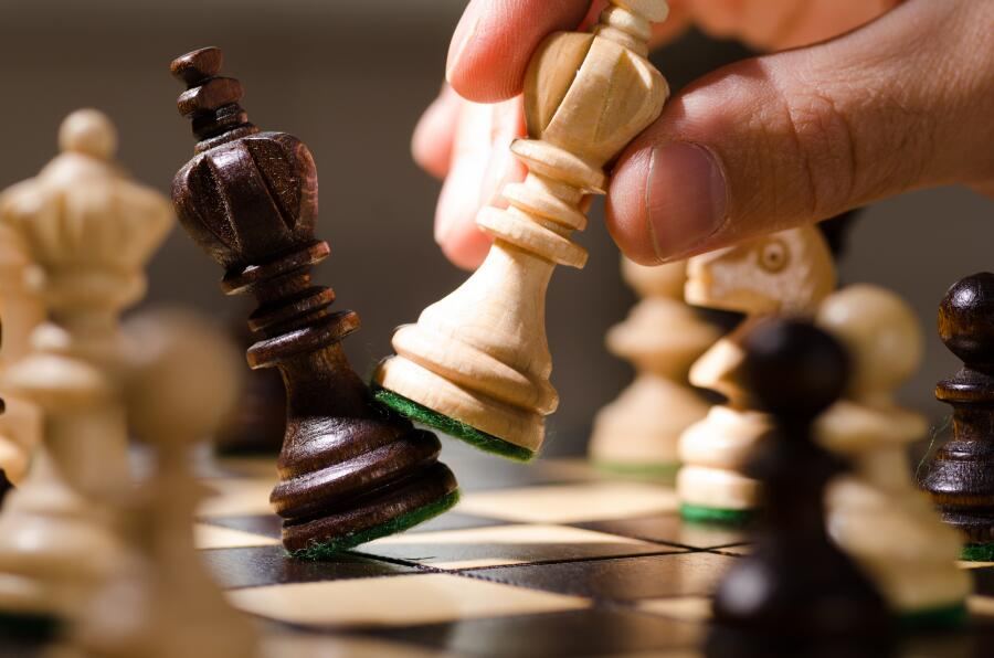 Как играют в шахматы «вслепую»?