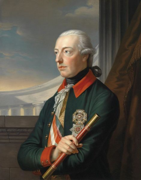Эрцгерцог Австрии и одновременно правитель Священной Римской империи Иосиф II Габсбург