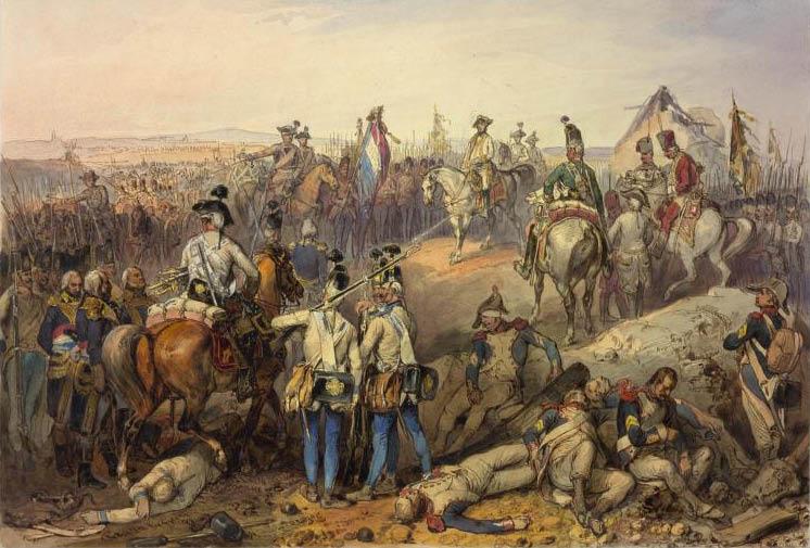 Австрийская армия в конце 18 века
