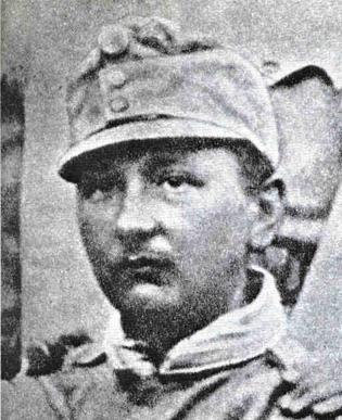 Ярослав Гашек в австрийской военной форме