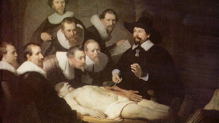 Рембрандт, «Урок анатомии доктора Тульпа», 1632 г.