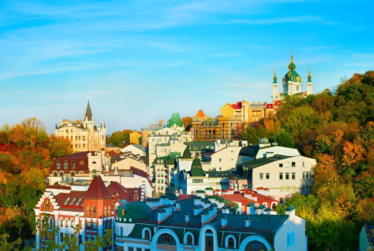 Современный Киев
