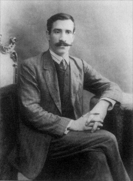 А. Грин в Петербурге, фото 1910 г.
