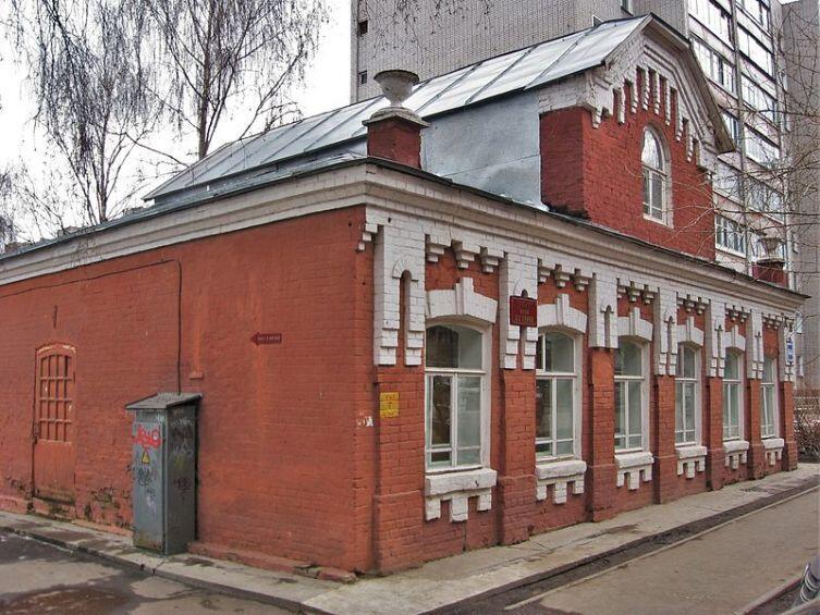 Дом-музей А. С. Грина, Киров. Находится на месте дома, где прошло детство будущего писателя в 1888—1894 гг.