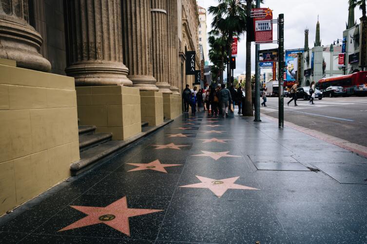 Аллея славы в Голливуде