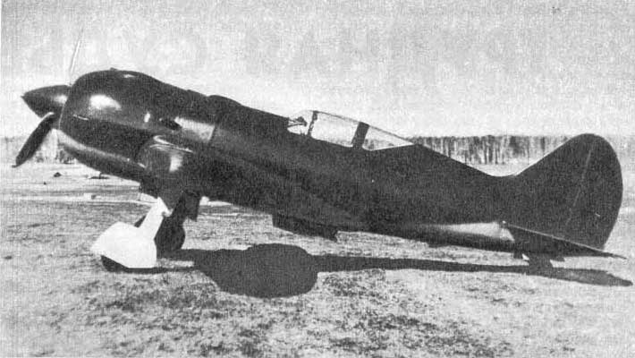 И-185 с двигателем М-71,