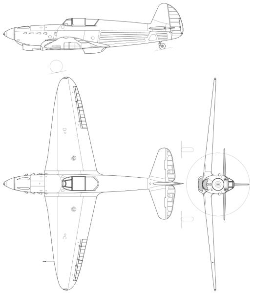 Проекция Як-1