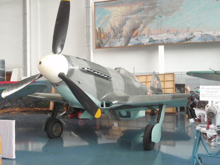 Як-9У в Центральном музее Военно-воздушных сил РФ, Монино