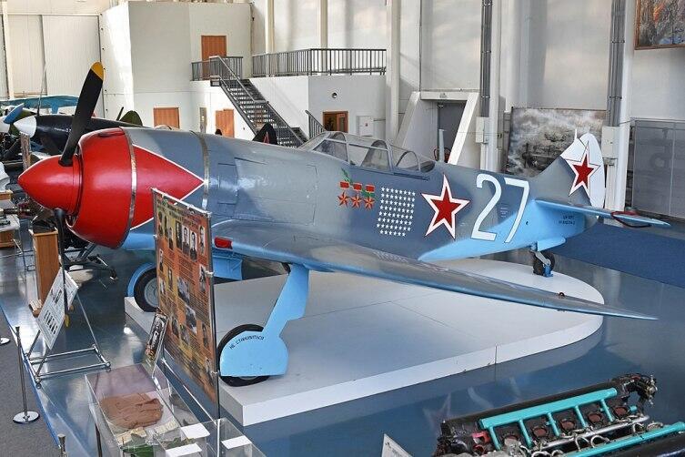 Ла-7 Трижды Героя СССР И. Н. Кожедуба. Музей ВВС в Монино