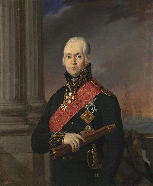 Портрет адмирала Ф. Ф. Ушакова