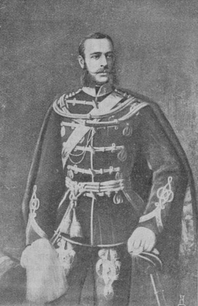 Поручик М. Скобелев