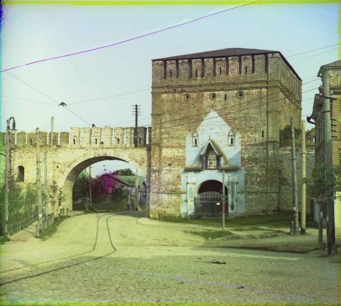 Никольские Ворота. Фото С. М. Прокудина-Горского