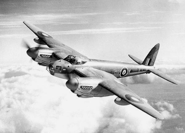 Mosquito B.Mk XVI ML963 - этот самолёт был потерян во время налёта на Берлин в апреле 1945 г.