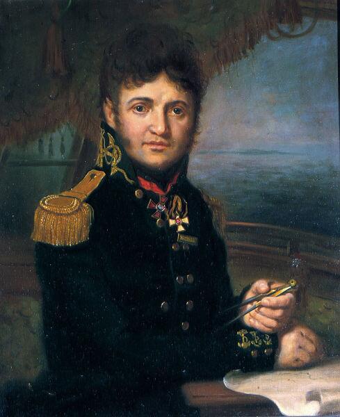 Портрет Ю. Ф. Лисянского
