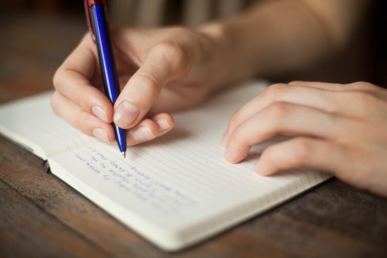 Запишите свои мечты на бумаге
