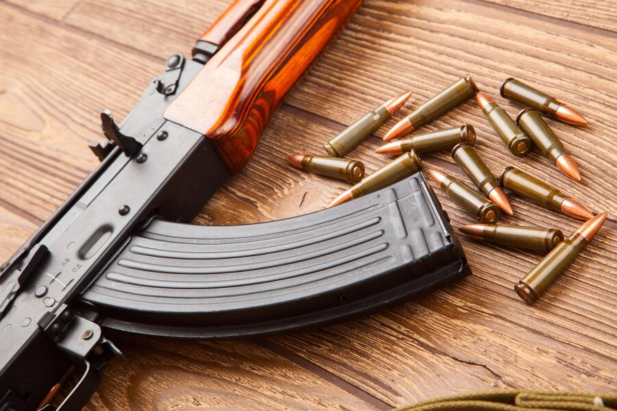 Как из боевого автомата Калашникова сделали пневматическую винтовку?