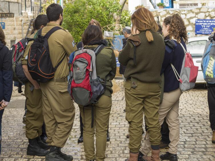 Призывники в Израиле