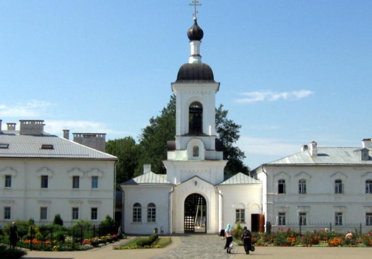 Звонница Спасо-Евфросиниевского монастыря
