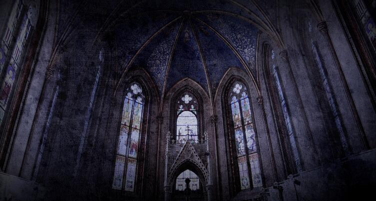 Свод готического собора