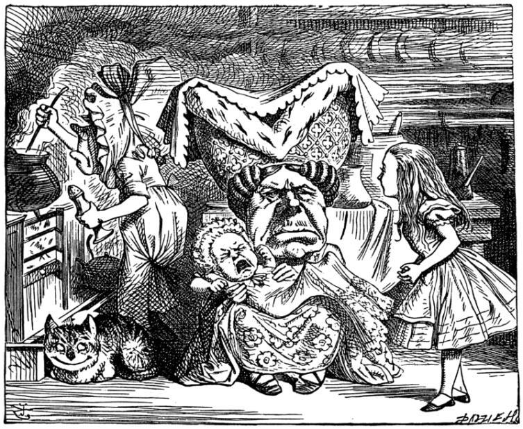 Герцогиня с младенцем