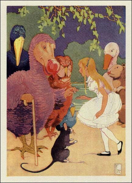 Бег по кругу. Иллюстрация Гертруды Кэй