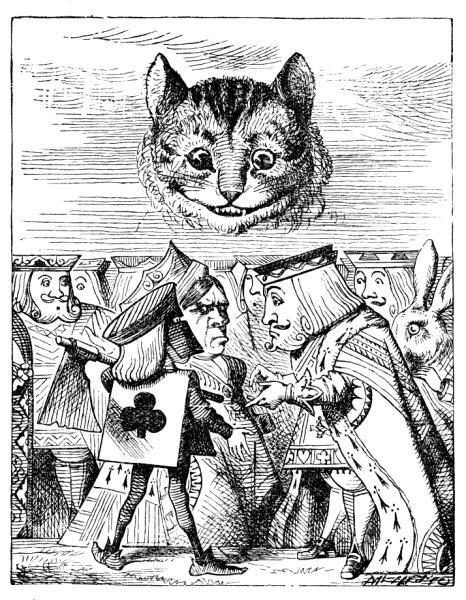 Чеширский Кот над Королём, Королевой и Палачом